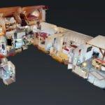 360 Grad Besichtigung Immobilien Stadtvilla mit Luxusausstattung Puppenhaus
