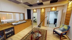 Mit 360 Grad durchs Tonstudio-Aufnahmeraum